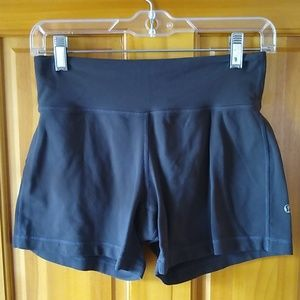 lululemon athletica yoga shorts